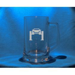 Pivní třetinka se jménem, obrázkem auto 2