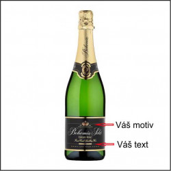 Bohemia Sekt - víno s obrázkem