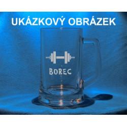 Pivní třetinka se jménem, obrázkem sport 1