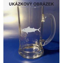 Pivní tuplák se jménem a obrázkem příroda 2