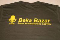Triko s logem BekaBazar